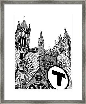 Old South Church Boston Framed Print by Conor Plunkett