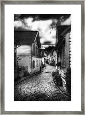 Old Stavanger Part II Framed Print by Erik Brede