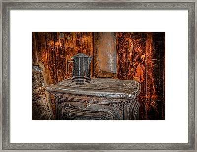 Old Style Coffee Framed Print by Ray Congrove