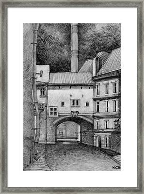 Old Tallinn Framed Print by Serge Yudin