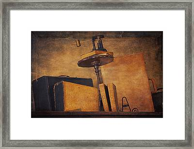 Old Things Il Framed Print by Maria Angelica Maira