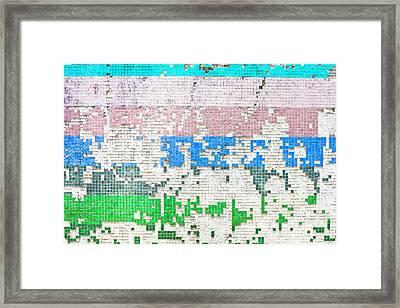 Old Tiles Framed Print by Tom Gowanlock