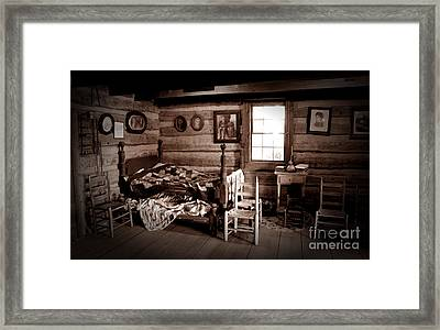 Old-time Living Framed Print by Paul W Faust -  Impressions of Light