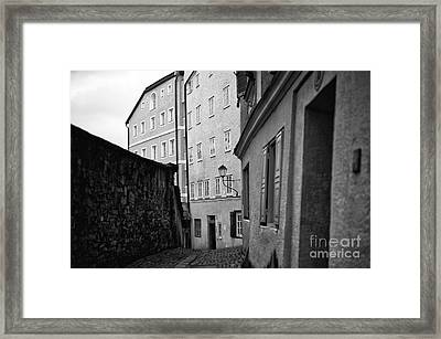 Old Time Salzburg Framed Print by John Rizzuto