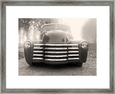 Old Time Truck Framed Print by Don Spenner