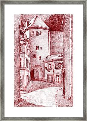 Old Tower Framed Print by Serge Yudin