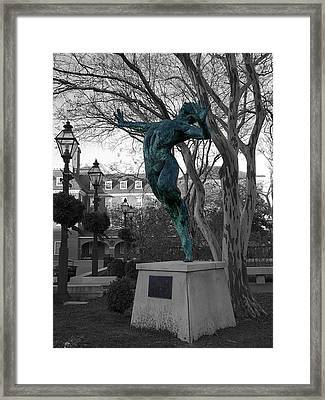 Old Town Alexandria - Brio 1 Framed Print by Richard Reeve
