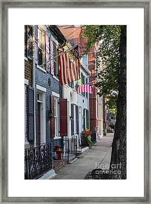Old Town Alexandria Framed Print by John Greim