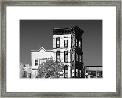 Old Town Chicago - The Second City Framed Print by Christine Till