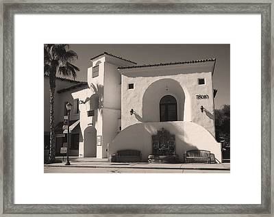 Old Town Framed Print by Laurie Search