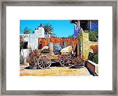 Old Town San Diego Framed Print by Glenn McCarthy Art and Photography