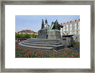 Old Town Square Framed Print by Yury Maselov
