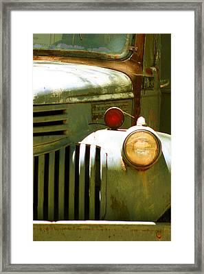 Old Truck Abstract Framed Print by Ben and Raisa Gertsberg