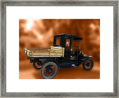 Old Truck Framed Print by Jo-Anne Gazo-McKim