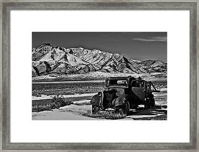 Old Truck Framed Print by Robert Bales