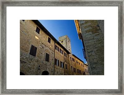 Old Tuscany Framed Print by Mick House