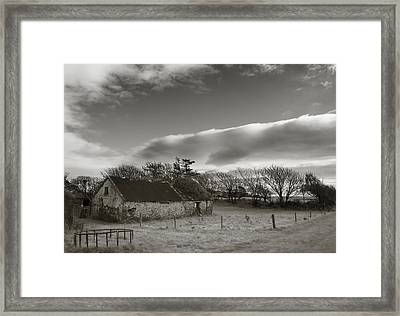 Old Unused Farm Near Ballyvooney, The Framed Print by Panoramic Images