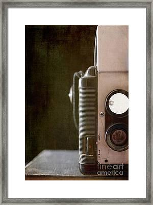 Old Vintage Film Camera Framed Print by Edward Fielding