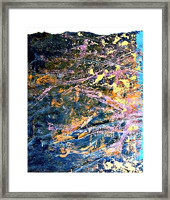 Old Wall Texture  Framed Print by Cristiana Marinescu