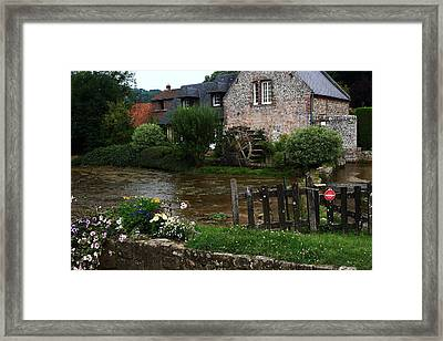 Old Water Mill Framed Print by Aidan Moran