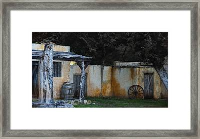 Old West Ghost Town Framed Print by Kelly Rader