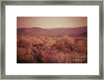 Old West Revisted Framed Print by Kim Marshall