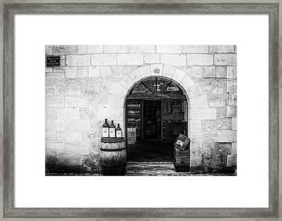 Old Wine Shop Framed Print by Georgia Fowler