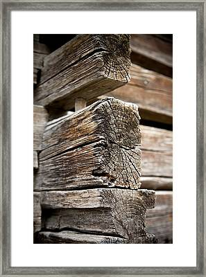 Old Wood Framed Print by Frank Tschakert
