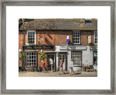 Olde Worlde Rye Framed Print by Donald Davis