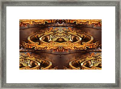 Olden Golden Framed Print by Kristin Elmquist