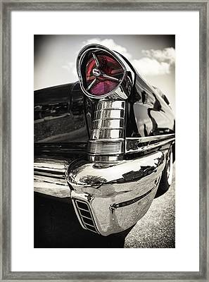 Oldsmobile Steel Framed Print by Caitlyn  Grasso