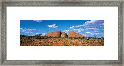 Olgas Australia Framed Print by Panoramic Images