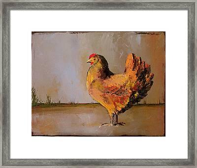 Olivia Framed Print by Carolyn Doe