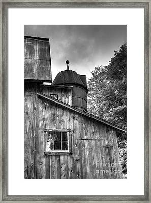 Olsen Barn At Port Oneida Framed Print by Twenty Two North Photography