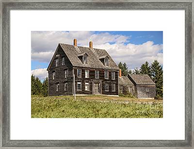 Olson House Framed Print by Benjamin Williamson