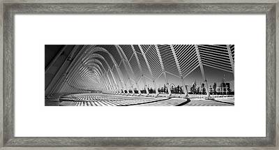Olympic Sports Complex - Athens Framed Print by Rod McLean