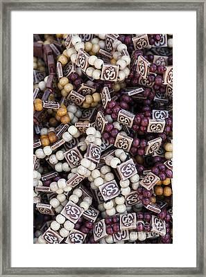 Om Bracelets Framed Print by Tim Gainey