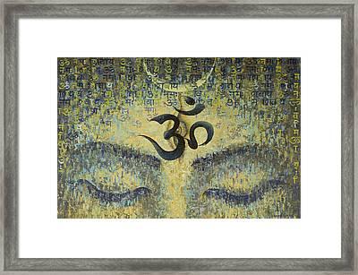OM Framed Print by Vrindavan Das