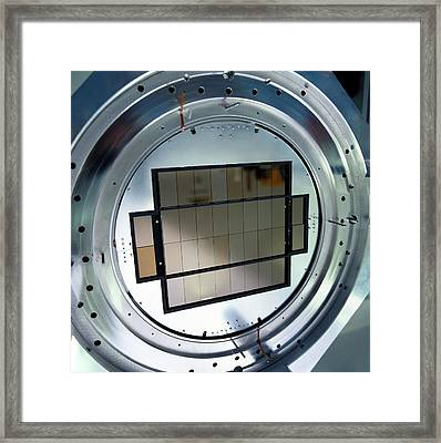 Omegacam Telescope Camera Framed Print by European Southern Observatory