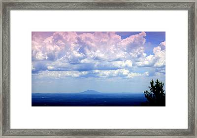 On A Clear Day Framed Print by Karen Wiles