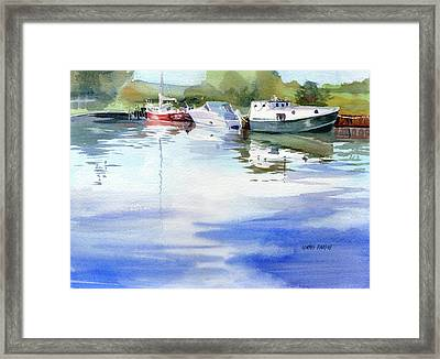 On A Clear Day Framed Print by Kris Parins