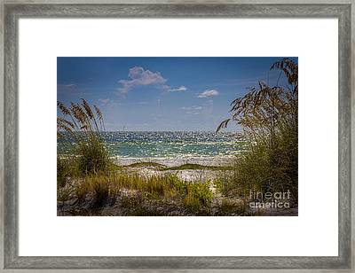 On A Clear Day Framed Print by Marvin Spates