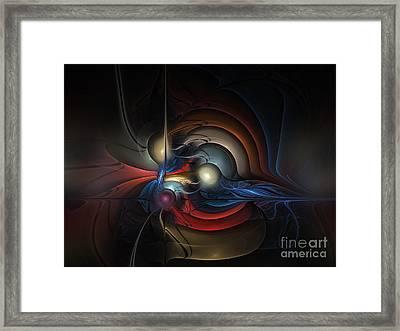 On Air Framed Print by Karin Kuhlmann