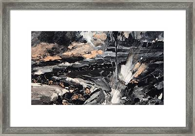 On An Occasion When The German Poison Framed Print by Cyrus Cuneo