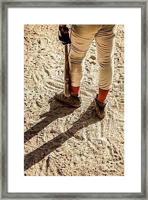 On Deck Framed Print by Diane Diederich