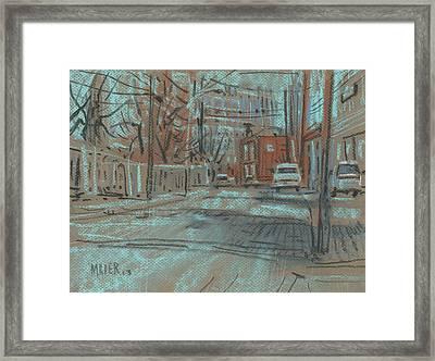 On Marietta Street Framed Print by Donald Maier