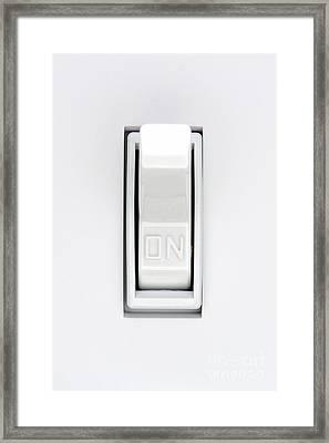 ON Framed Print by Olivier Le Queinec