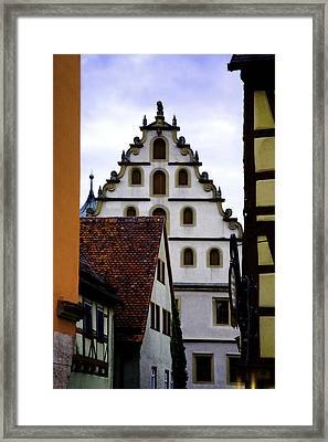 On Shapes And Colors Framed Print by Joanna Madloch