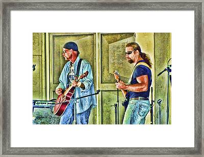 On Stage Framed Print by Kenny Francis