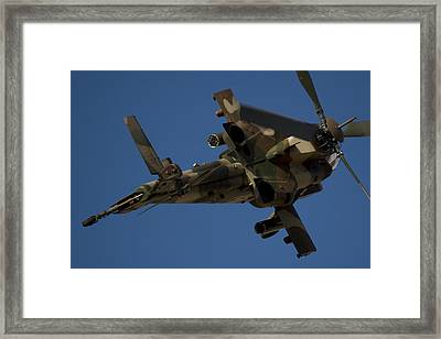 On The Attack II Framed Print by Paul Job